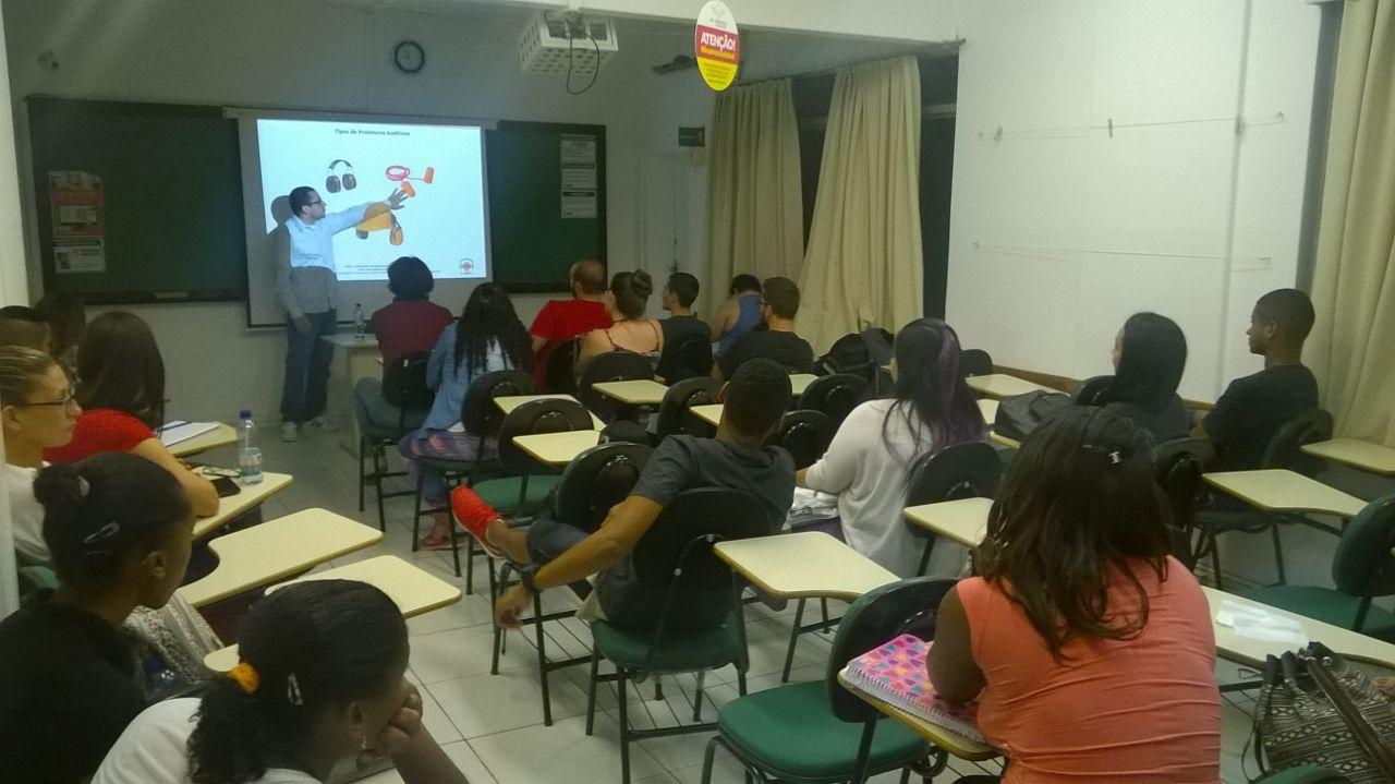 Participação na SIPAT da Escola Técnica Geração