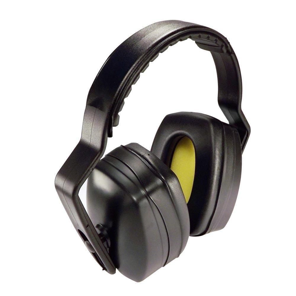 Quantas amostras do protetor auditivo são necessárias para o ensaio?